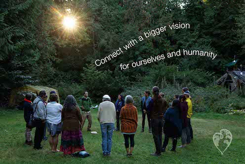 Connect with a bigger vision of possibility fo rourselves and humanity